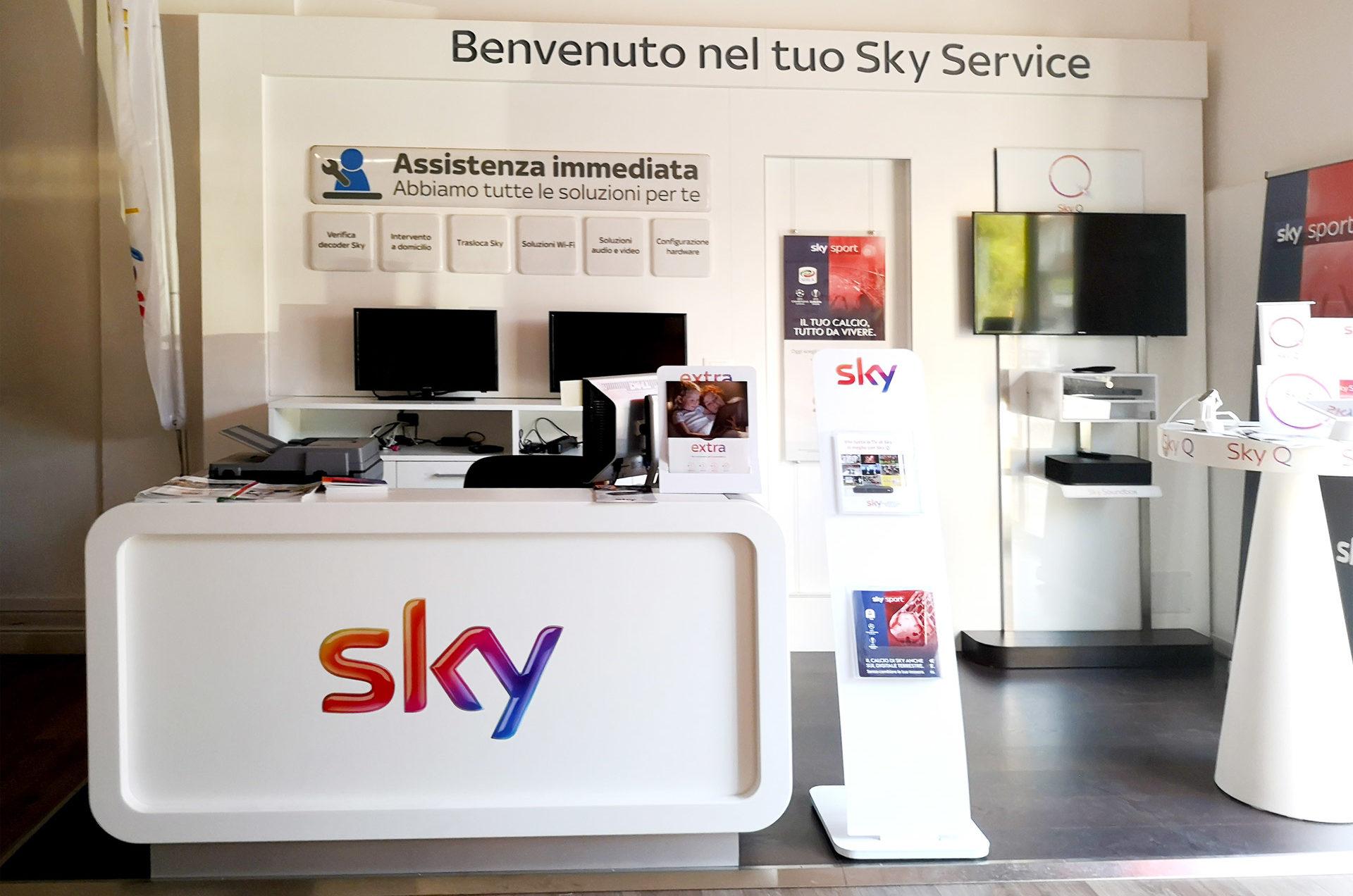Sky Service Siracusa viale Tica 102
